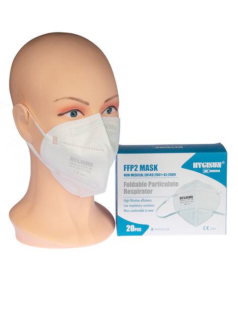 FFP2 Masken - Packung mit 20 Stück