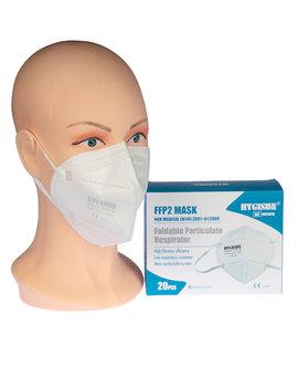 FFP2 Masken ohne Filter Packung mit 20 Stück