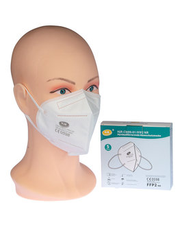 FFP2 Masken ohne Filter Packung mit 5 Stück
